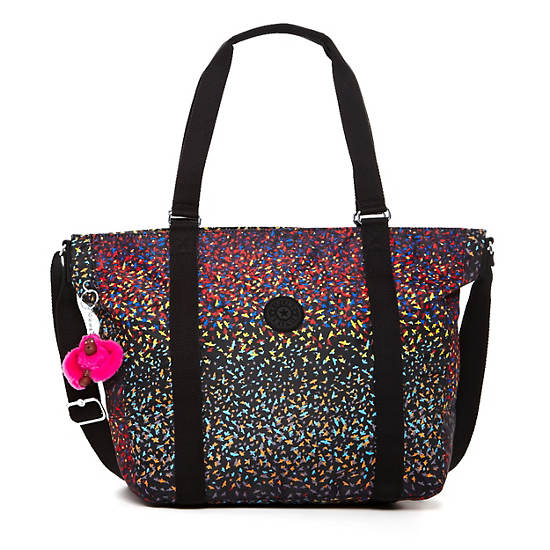 Adara Medium Tote,Fan Florals,large