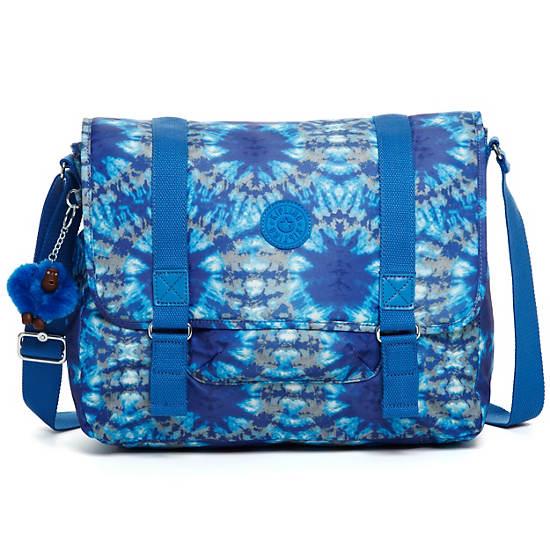 Aleron Messenger Bag,Blue Grey Combo,large