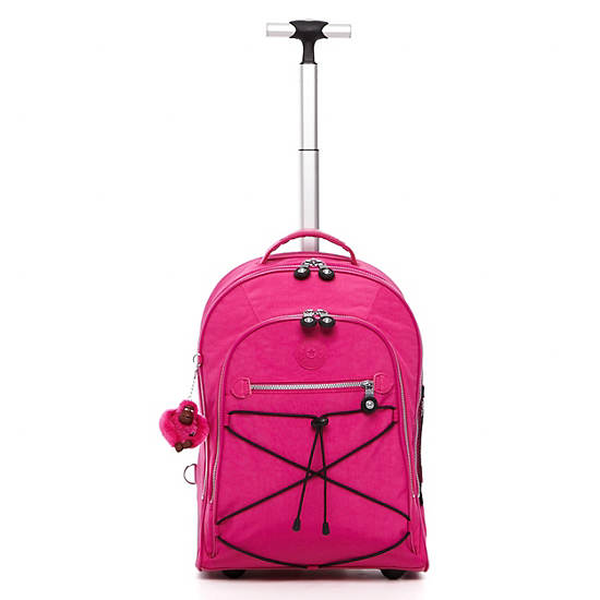 Sausalito Rolling Backpack,Very Berry,large
