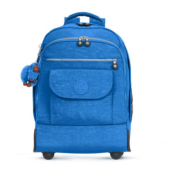 Sanaa Large Rolling Backpack,Snorkel Blue,large