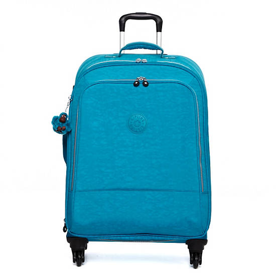 Yubin 69 Spinner Luggage,Turq Blue,large