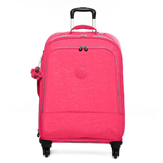 Yubin 69 Spinner Luggage,Vibrant Pink,large
