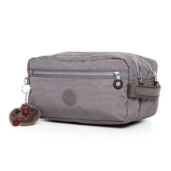 Agot Large Toiletry Bag,Celo Grey,large