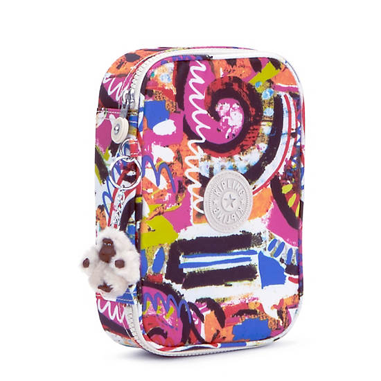 100 Pens Printed Case,Dance Freely,large