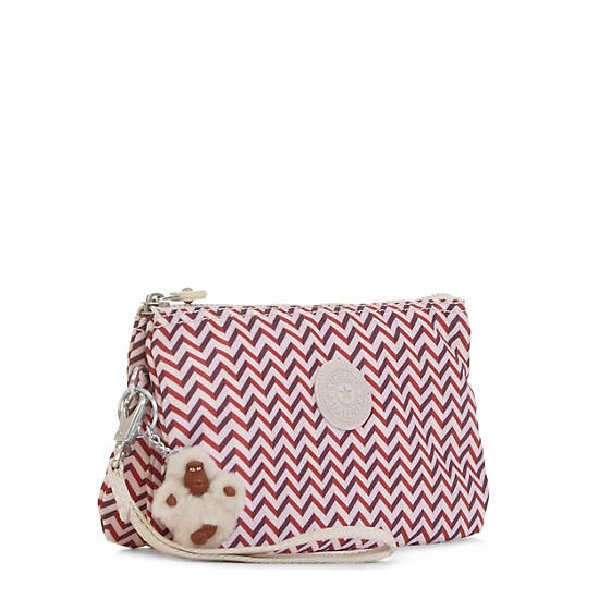 Creativity XL Printed Pouch,Zest Red,large