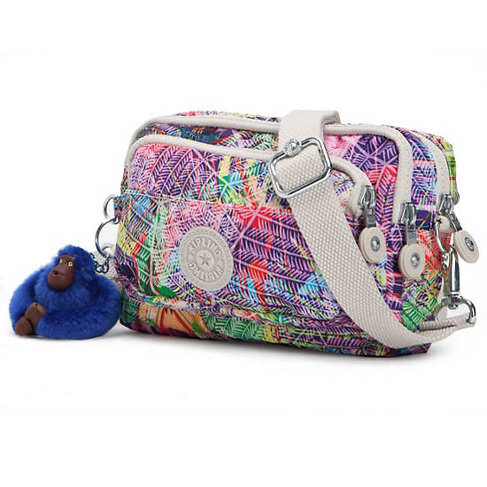 Merryl Printed Convertible Bag,Island Hop,large