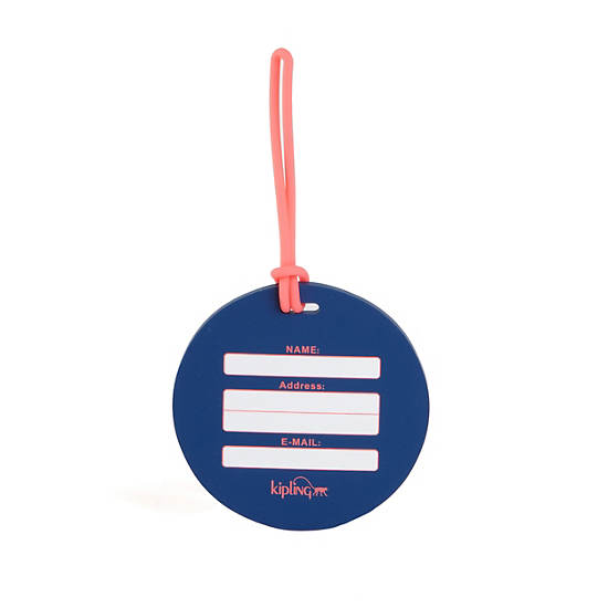 Travel Luggage Tag ,Cool Blue,large