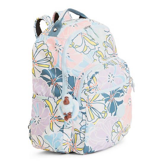 Seoul Large Printed Laptop Backpack,Hello Spring,large