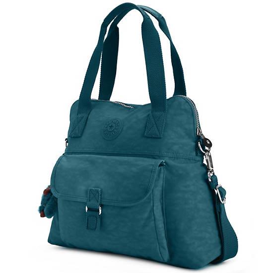 Pahneiro Handbag,Emerald Green,large