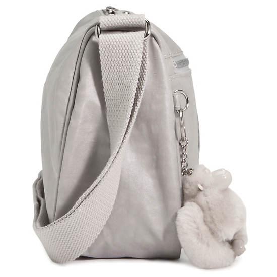 Callie Coated Handbag,Lacquer Black,large