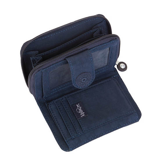 New Money Deluxe Wallet,True Blue,large