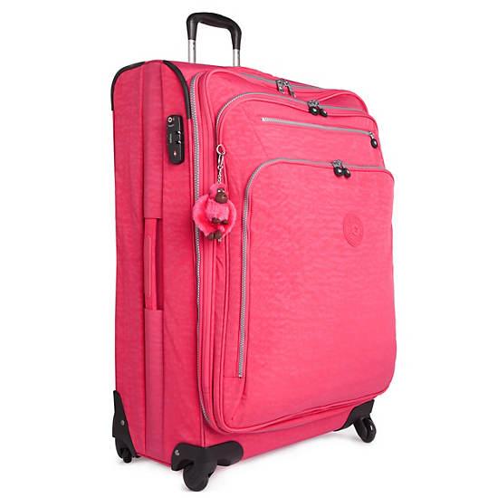 Florida Lite Large Expandable Luggage,Black,large