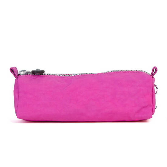Fabian Cosmetics & Pen Case,Pink Orchid,large
