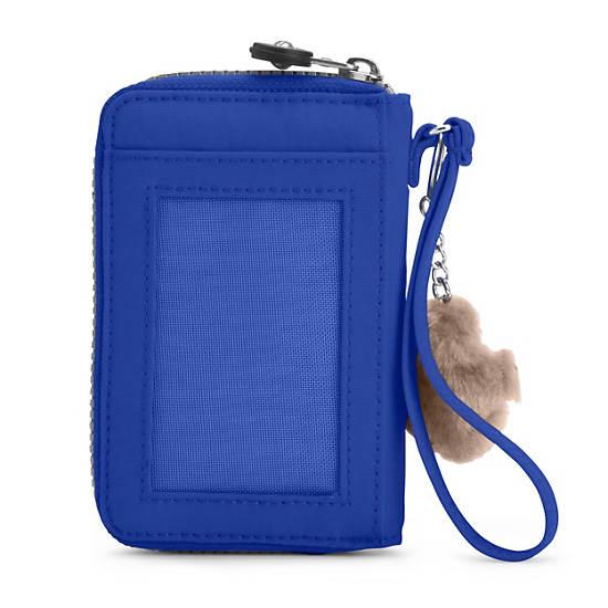 PATTIE WALLET WRISTLET,Glass Bottom Blue,large