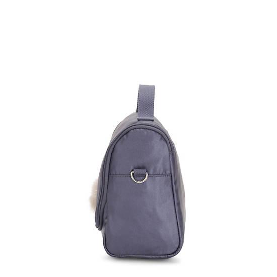 Kichirou Metallic Lunch Bag,Enchanted Purple Metallic,large