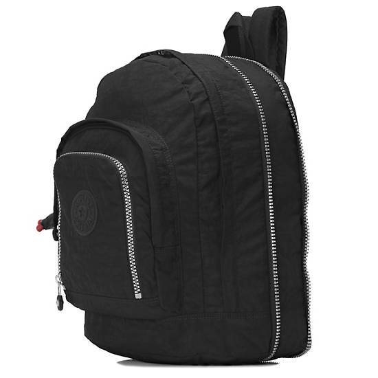 Hal Large Expandable Backpack,Black,large