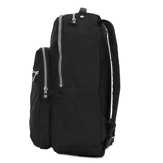 Seoul Large Laptop Backpack,Black,large