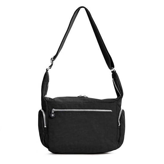 Erica Crossbody Bag,Black,large