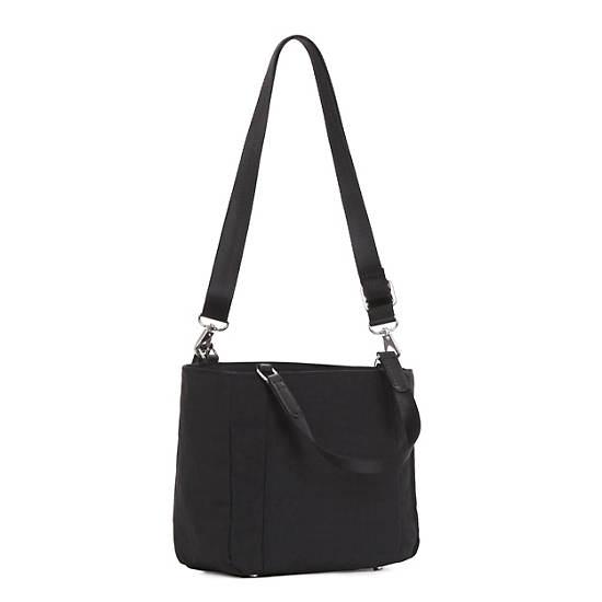 Stacie Handbag,Black Pink Sherbert Combo,large