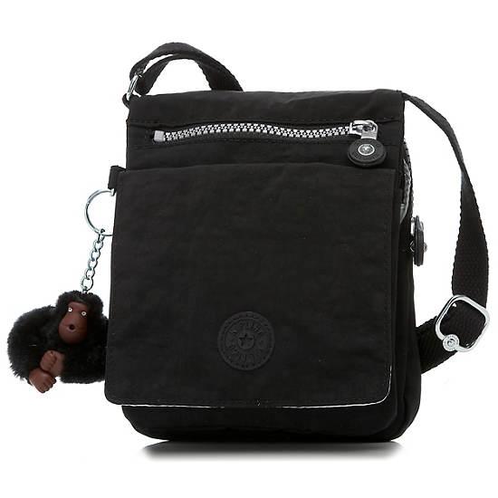 El Dorado Crossbody Bag,Black,large