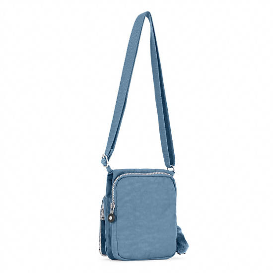 El Dorado Crossbody Bag,Blue Bird,large