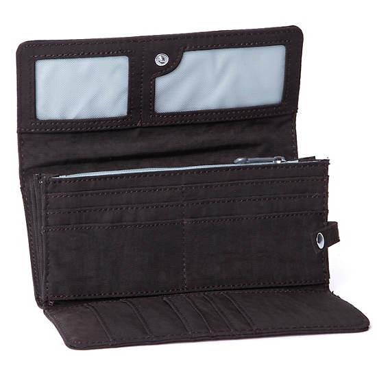 Teddi Large Organizer Wallet,Espresso,large
