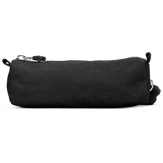 Fabian Cosmetics & Pen Case,Black,large