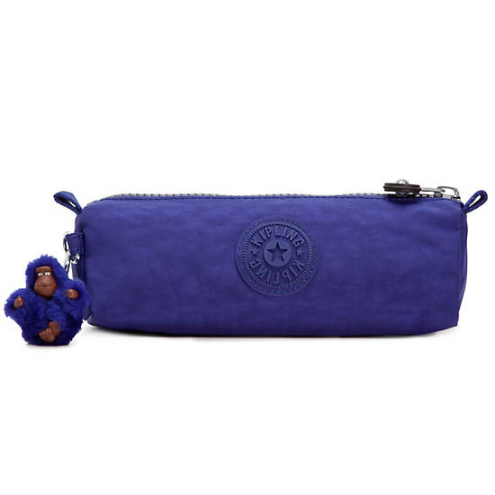 Fabian Cosmetics & Pen Case,Flash Blue,large