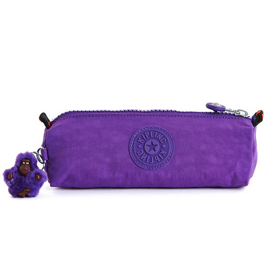 Fabian Cosmetics & Pen Case,Tile Purple,large
