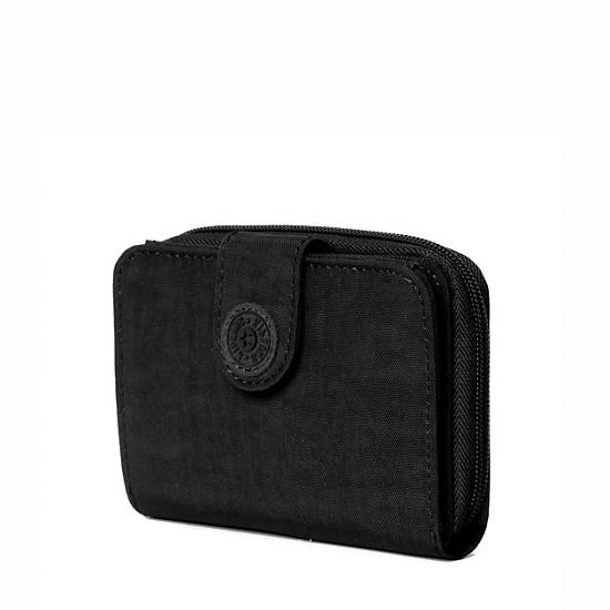 New Money Deluxe Wallet,Black,large