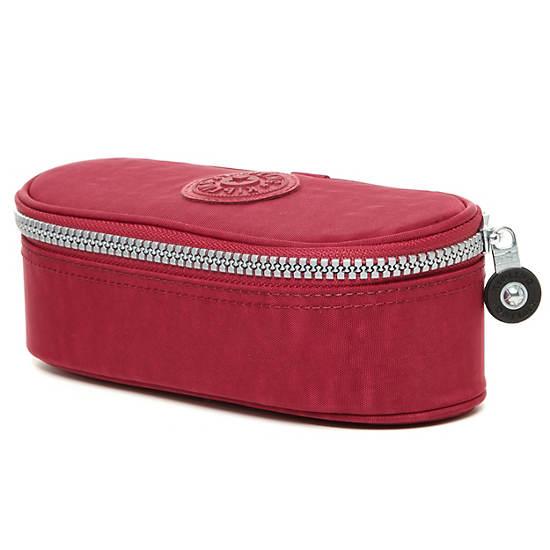 Duobox Pen Case,Deep Red,large