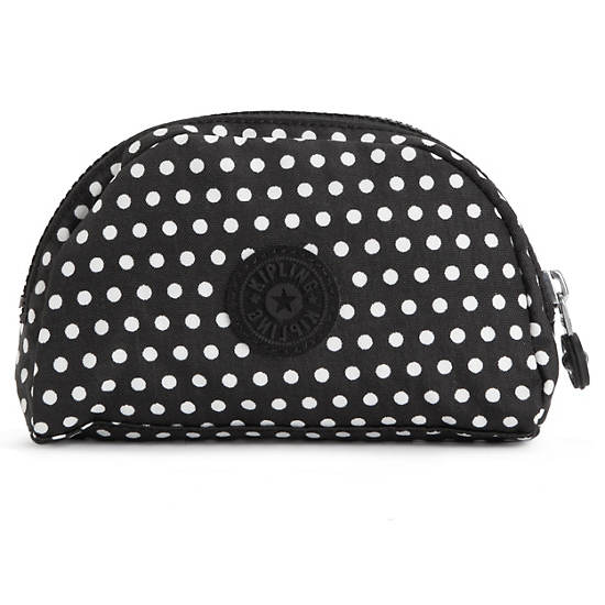 Trix Mini Pouch,White Dot,large