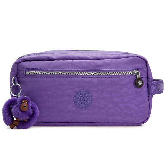 Agot Large Toiletry Bag,Vivid Purple,large