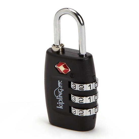 TSA Lock,Black,large
