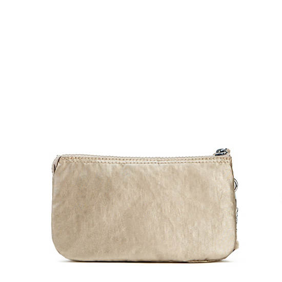 Creativity Metallic Large Pouch,Champagne Metallic,large