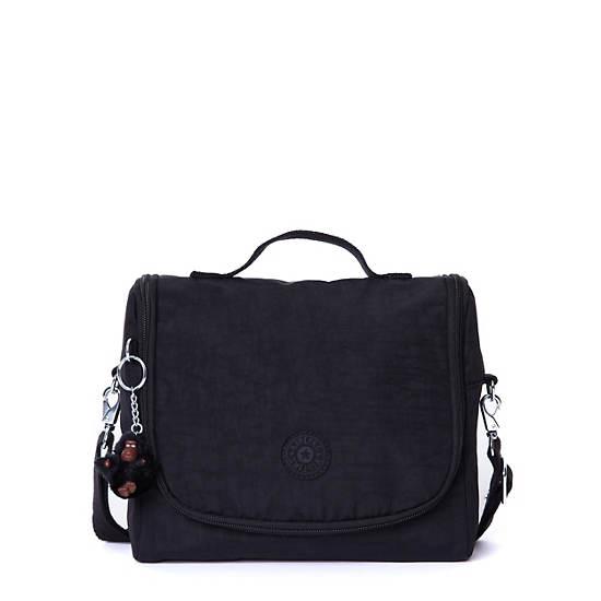 Kichirou Lunch Bag,Black,large
