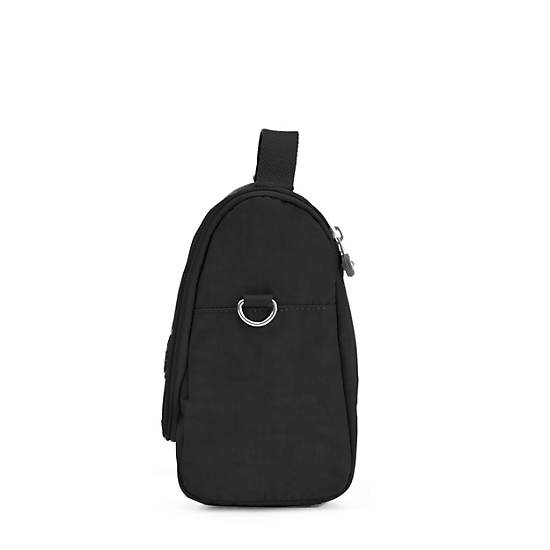 Kichirou Lunch Bag,Black,large
