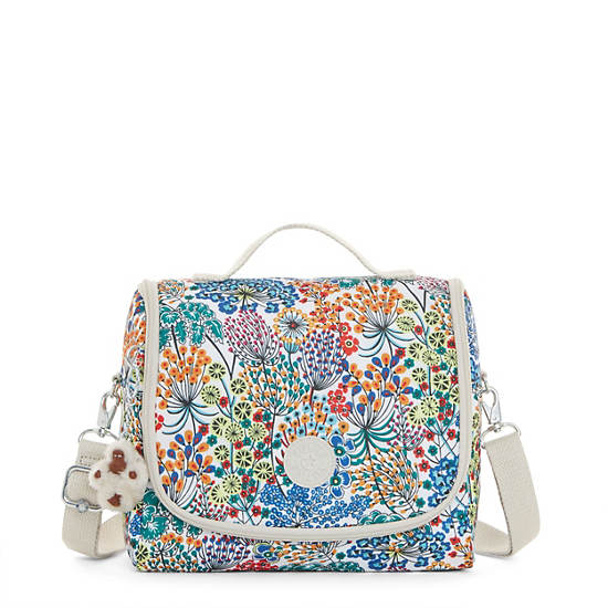 Kichirou Lunch Bag - Little Flower Blue | Kipling