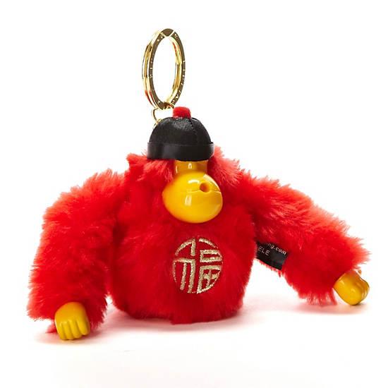 China Monkey Keychain,Multi,large