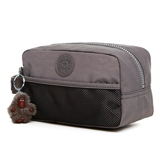 Denice Toiletry Bag,Celo Grey,large