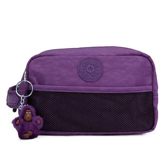 Denice Toiletry Bag,Inlet Purple,large