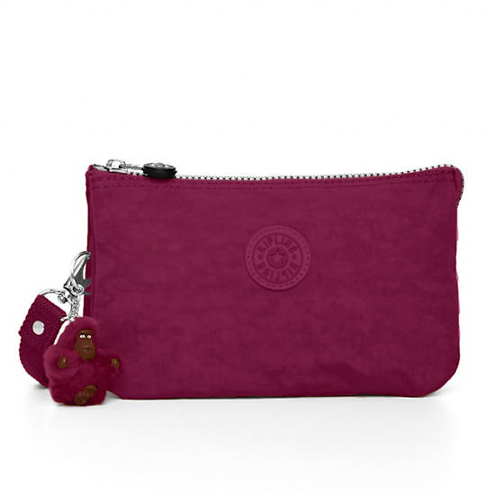 Creativity XL Pouch,Deep Red,large