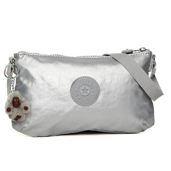 Finnie Mini Bag,Silver Metallic,large