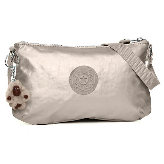 Finnie Mini Bag,Silver Beige,large