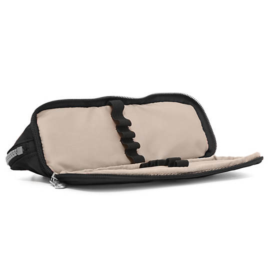 Kent Zip Pencil Pouch,Black,large