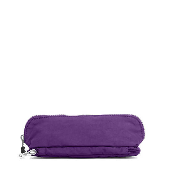 Kent Zip Pencil Pouch,Pomegranate,large