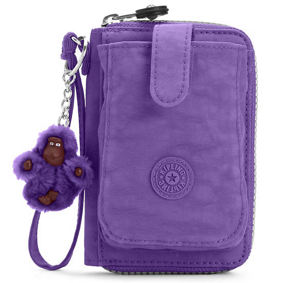 PATTIE WALLET WRISTLET,Vivid Purple,large
