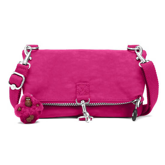 Rizzi Convertible Mini Bag,Very Berry,large