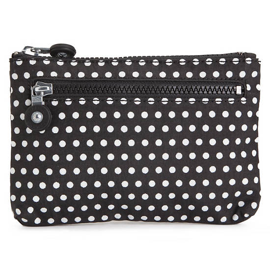 Kuji Print Pouch,White Dot,large