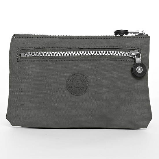Kuji Pouch,Celo Grey,large